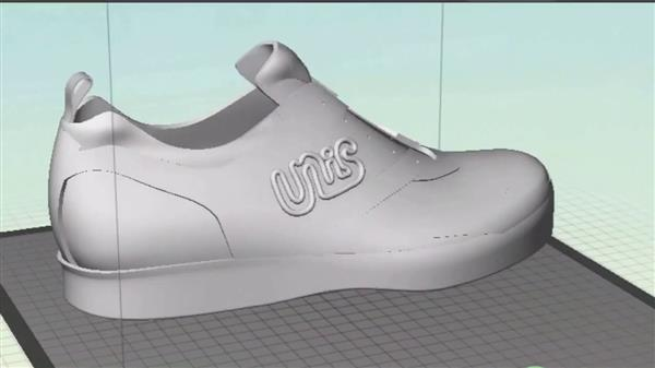 UnisBrands 3D Printed Shoes