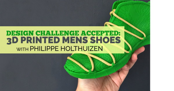 Philippe Holthuizen's 3D Shoes
