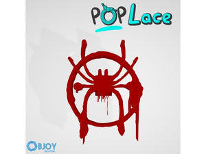 Spider Man Into the Spiderverse Logo - Accessory for shoe lace - POPLace  by ObjoyCreation
