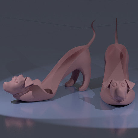 3D Digital Dippy Dog Shoes Model