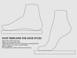 Fashion Shoe Styles by ndirika