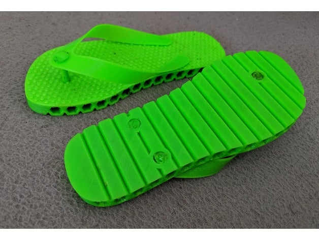 TPU flip-flops for 3 year old by mityok