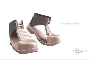 Flexible Sandal Boot by ano220