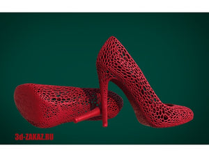 Shoes design Voronoi by 3DDEDCLUB