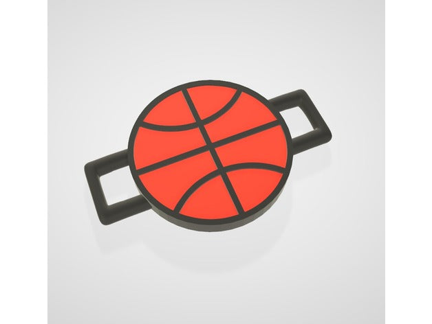 Basket Ball - Lace Lock (PopLace) - by ObjoyCreation
