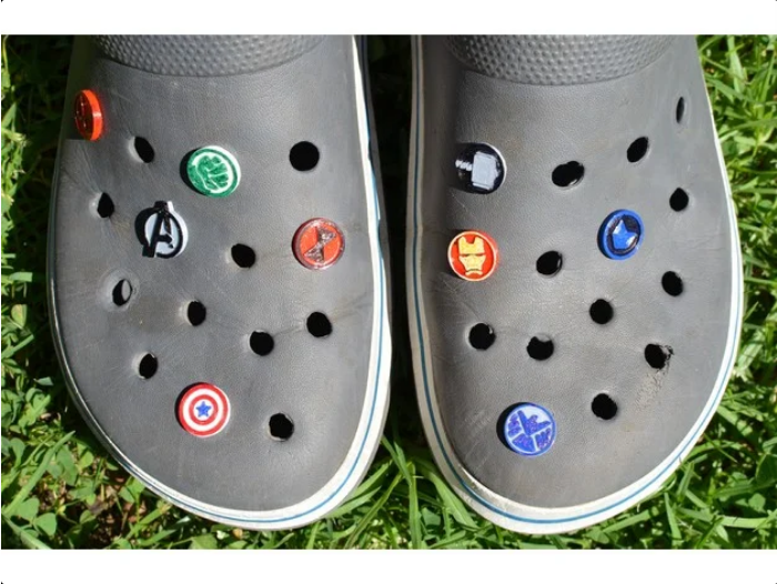 Marvel pin for Crocs  Bamers by nbmena