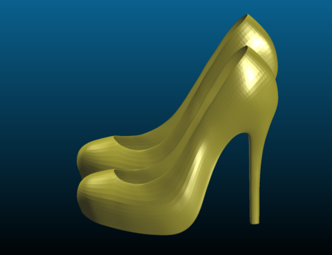 High heels (female shoes) - Remix by Tse_Tso