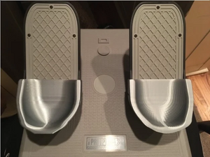 CH Pro Rudder Pedals - Heel Cup / Backstop by MD_Co