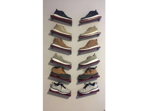 Floating Shoe Shelves by jackcaz