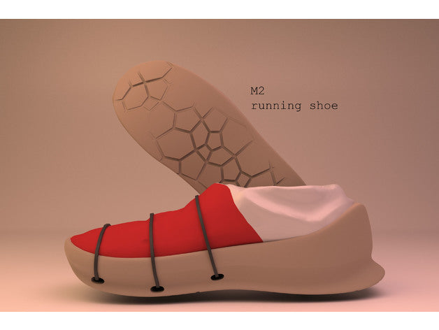 M2 running shoe - Designed by Max_Morenberg