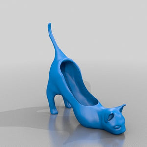 3D Printed Cat High Heel
