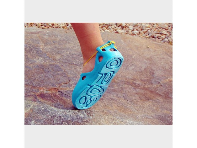 Lace-Up 3D Sandals (For Kids)