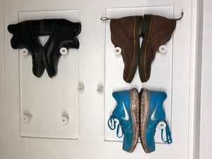 Simple Shoe Wall Mount by Me_in_3D