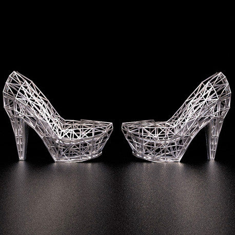 3D Shoes Model | Wire Frames High Heels