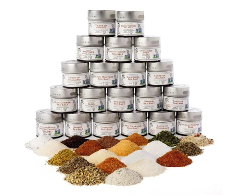 artisanal spice collection