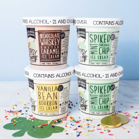 spiked ice cream containers