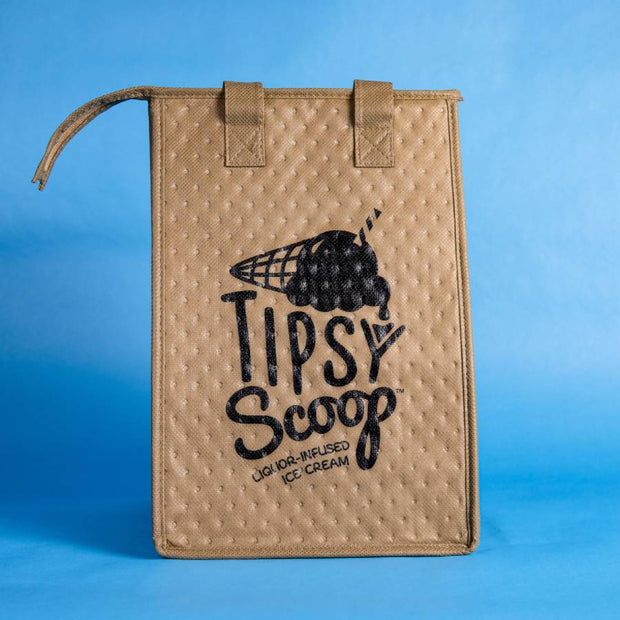 Tipsy Scoop Tote Bag (Small)