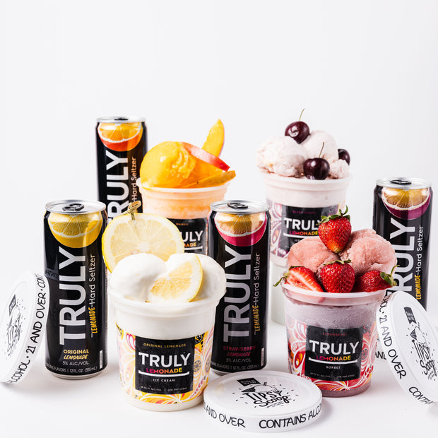Truly Lemonade Ice Cream & Spiked Seltzer Bundle