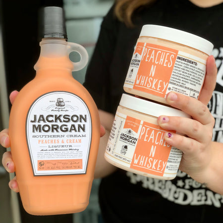 Jackson Morgan Peaches & Whiskey 4-Pint Pack