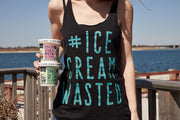 #ICECREAMWASTED Tank Top