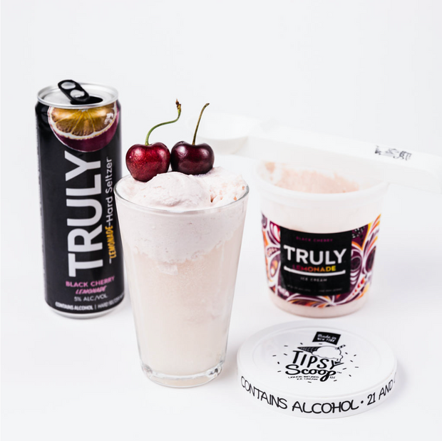 Truly Black Cherry Lemonade Ice Cream 4-Pack
