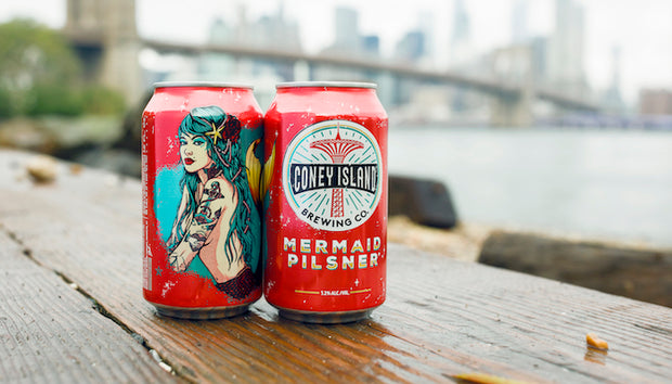 Coney Island Mermaid Pilsner 12 oz can