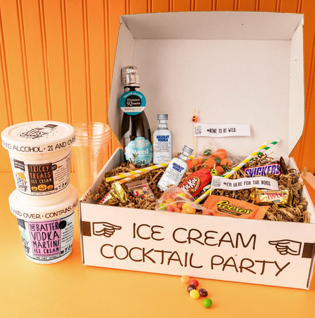 Tipsy Scoop x Absolut Tricky Treats Halloween Cocktail Kit (wine & beer)