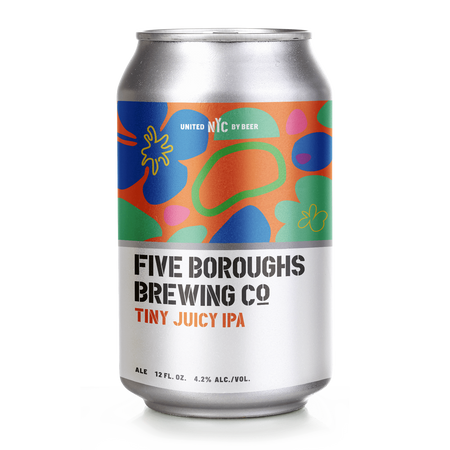 5 Boroughs Tiny Juicy IPA