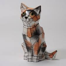 CAT FACETED - LARGE