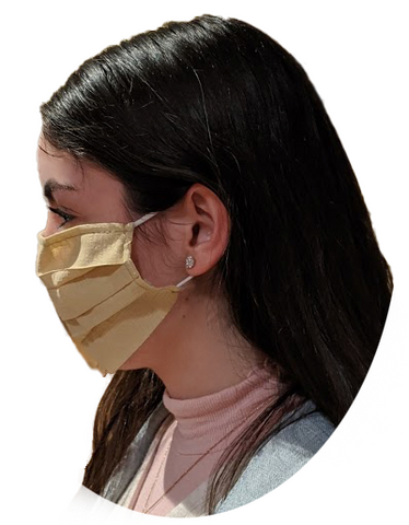 Protective Face Covering - Poly Cotton (Set of 5)