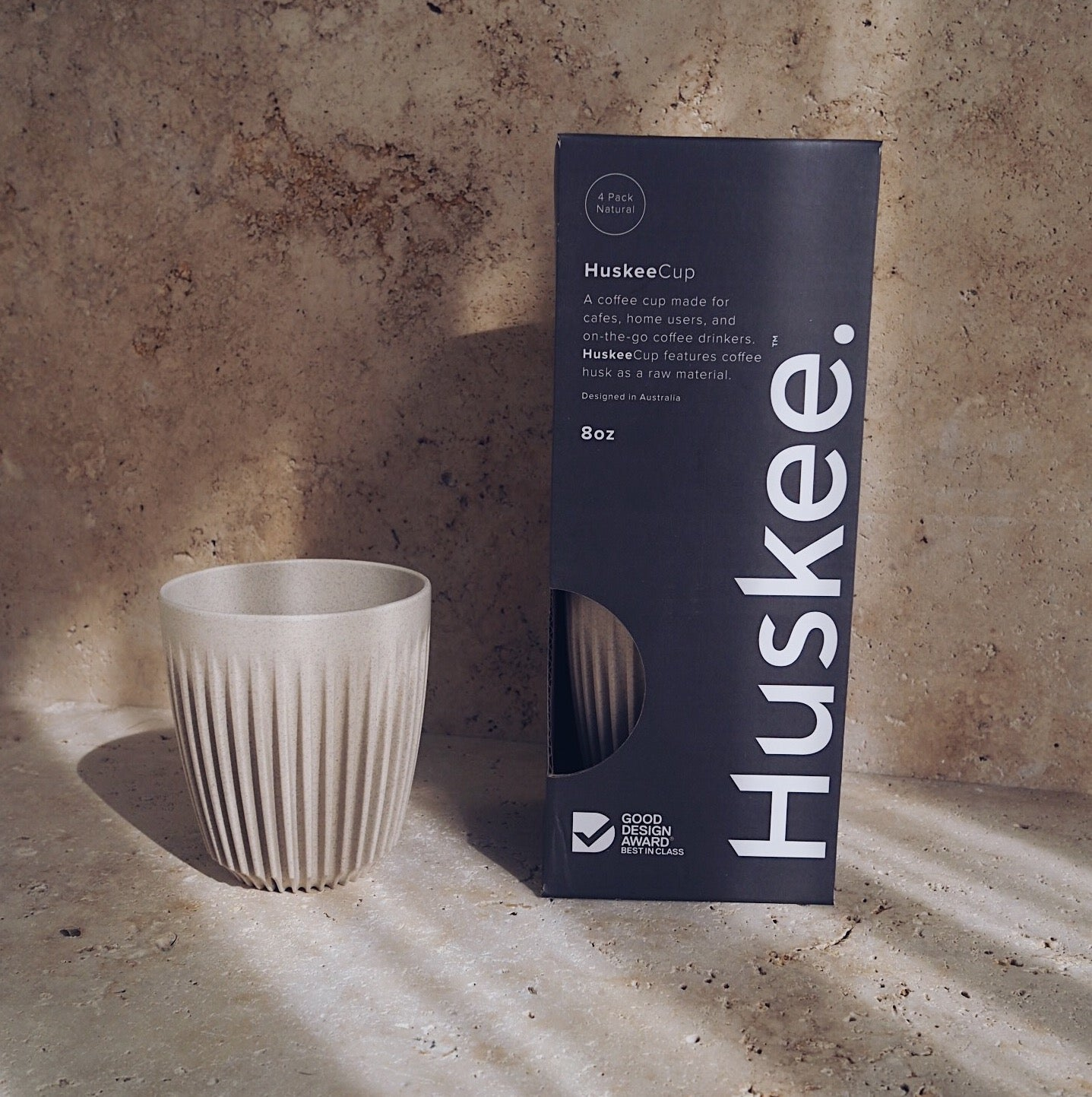 Huskee - Sustainable Coffee Cups (Set of 4)