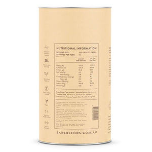 Bare Blends - Vanilla & Coconut Plant Protein Powder