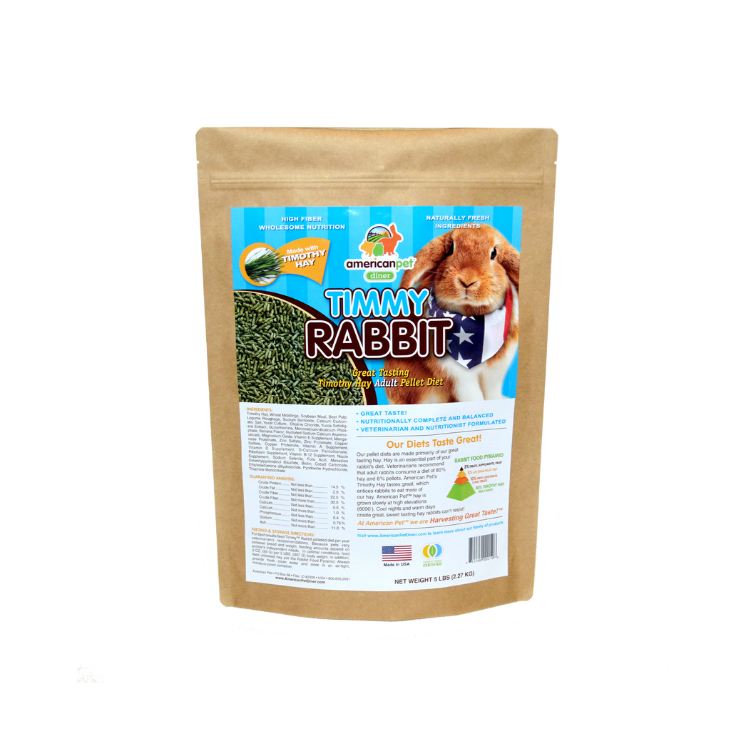American Pet Timmy™ Rabbit Pellet