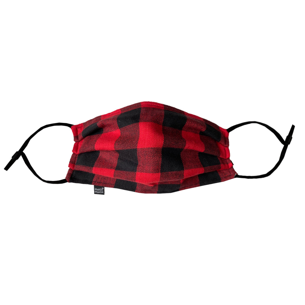 Way Back, When I Had The Red And Black Lumberjack Mask