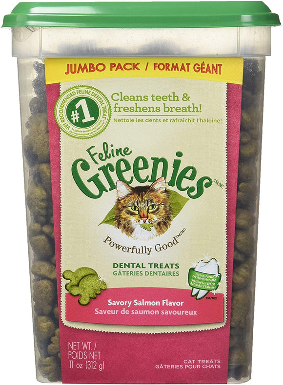Greenies félin Saumon rôti 11oz pour chat