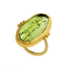 Great Green Tourmaline Ring