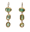 Tourmaline Trio Earrings