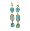 Brilliant Blue Topaz Earrings