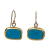 Turquoise TV Earrings