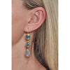 Endless Aquamarine Earrings