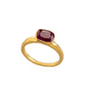 Nourishing Ruby Gold Ring