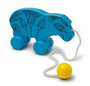 William Wooden Pull Toy