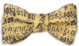 Music by JS Bach Bow Tie