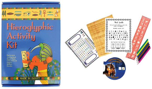 SALE- Hieroglyphic Activity Kit.