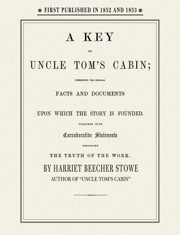 Key to Uncle Tom's Cabin