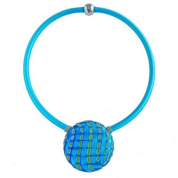 Aqua Glass Venezia Necklace