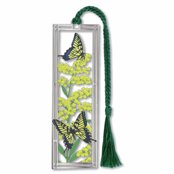 Bookmark - Goldenrod & Swallowtails