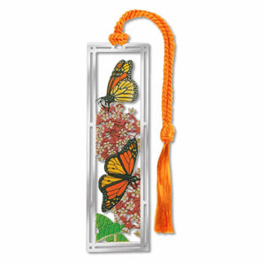 Bookmark - Milkweed & Monarch