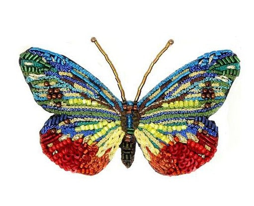 Cepora Jewel Butterfly Embellished Pin