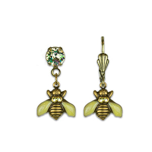Fly High Bee Treasure Earrings